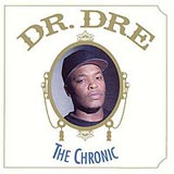 Cover des legendären Album The Chronic von Dr. Dre