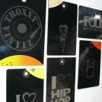 Visitenkarten aus Vinyl (Foto: Christian Trögele)