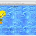 Erste Website von Webmeister Denise (Zeroroutine)