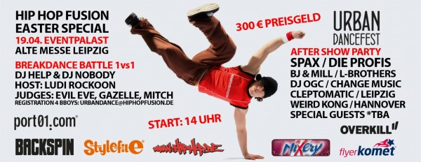 Event-Tipp: HipHop Fusion in Leipzig