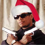 Eazy-E wünscht frohe Weihnachten!