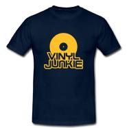 T-Shirt: Vinyl Junkie